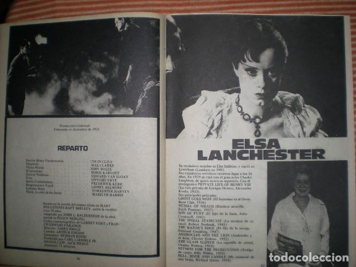 Coleccionismo de Revista Blanco y Negro: revista contiene muchas imágenes de las películas Frankenstein año 1931/32 en blanco y negro - Foto 6 - 68174713