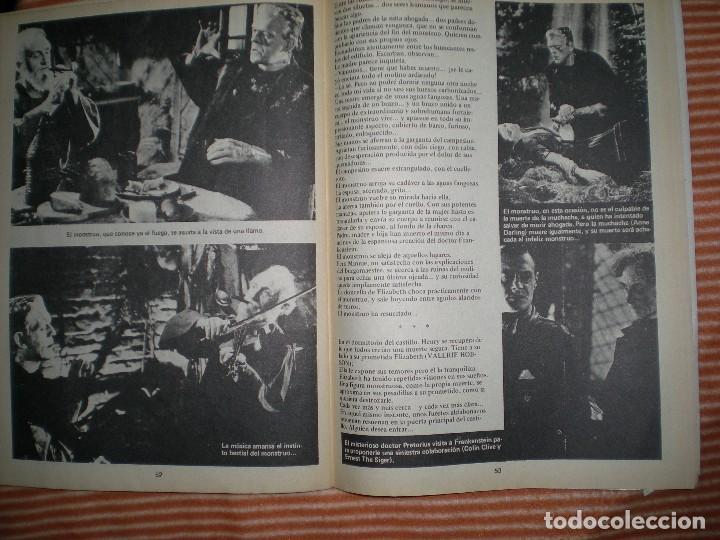 Coleccionismo de Revista Blanco y Negro: revista contiene muchas imágenes de las películas Frankenstein año 1931/32 en blanco y negro - Foto 9 - 68174713