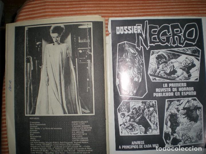 Coleccionismo de Revista Blanco y Negro: revista contiene muchas imágenes de las películas Frankenstein año 1931/32 en blanco y negro - Foto 13 - 68174713