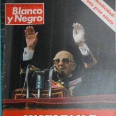 Coleccionismo de Revista Blanco y Negro: REVISTA BLANCO Y NEGRO Nº 3492 ,1979 - SUAREZ,MIS PROGRAMAS -FRANCO -ENSEÑANZA EN LUCHA -NICARAGUA. Lote 68997069