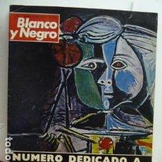 Coleccionismo de Revista Blanco y Negro: PICASSO REVISTA BLANCO Y NEGRO DEDICADA A PICASSO 1973. Lote 69474753