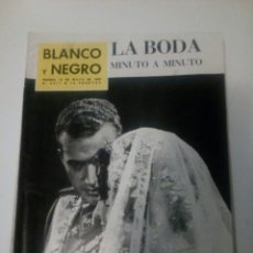 Coleccionismo de Revista Blanco y Negro: REVISTA BLANCO Y NEGRO. 1962. Lote 75247846