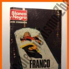 Coleccionismo de Revista Blanco y Negro: BLANCO Y NEGRO, EDICIÓN EXTRAORDINARIA, NOVIEMBRE 1975 - FRANCO MUERTO. Lote 76795115