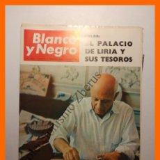 Coleccionismo de Revista Blanco y Negro: BLANCO Y NEGRO Nº 2805 - 5 FEBRERO 1966 - PICASSO OCIO Y TRABAJO. Lote 77303253