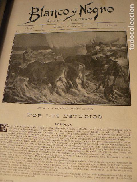 Coleccionismo de Revista Blanco y Negro: REVISTA BLANCO Y NEGRO AÑO 1905 - Foto 7 - 78589749