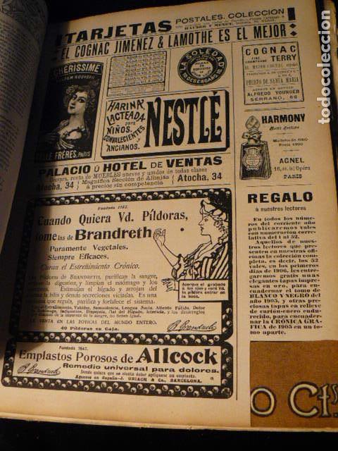 Coleccionismo de Revista Blanco y Negro: REVISTA BLANCO Y NEGRO AÑO 1905 - Foto 9 - 78589749