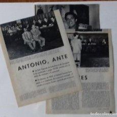 Coleccionismo de Revista Blanco y Negro: JUICIO AL BAILARÍN ANTONIO EN 1961 EN RECORTE (RE6) 4 PÁGINAS REVISTA BLANCO Y NEGRO ESE MISMO AÑO. Lote 80542310
