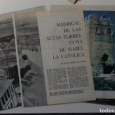 Coleccionismo de Revista Blanco y Negro: MADRIGAL ALTAS TORRES EN 1961 EN RECORTE (RE51) 8 PÁGINAS REVISTA BLANCO Y BEGRO ESE AÑO. Lote 80737654