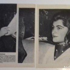 Coleccionismo de Revista Blanco y Negro: FALLERAS INFANTIL Y MAYOR VALENCIA 1961 EN RECORTE (RE14) 2 PÁGINAS REVISTA BLANCO Y NEGRO ESE AÑO. Lote 80904936