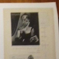 Coleccionismo de Revista Blanco y Negro: ANUNCIO PERLAS MAJORICA DE 1961 EN RECORTE (RE15) 1 PÁGINA REVISTA BLANCO Y NGERO DE ESE AÑO. Lote 80904996