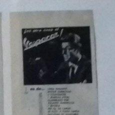 Coleccionismo de Revista Blanco y Negro: ANUNCIO MOTOCARRO VESPACAR EN 1961 EN RECORTE (RE28) MEDIA PÁGINA REVISTA BLANCO Y NEGRO ESE AÑO. Lote 80906920