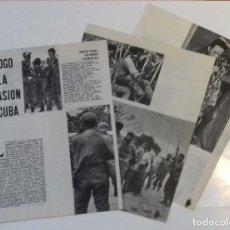 Coleccionismo de Revista Blanco y Negro: TRISTE EPÍLOGO INVASION DE CUBA EN 1961 EN RECORTE (RE47) 5 PÁGINAS REVISTA BLANCO Y NEGRO ESE AÑO. Lote 80908468