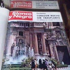 Coleccionismo de Revista Blanco y Negro: REVISTA BLANCO Y NEGRO 1968. OCTUBRE-DICIEMBRE. Lote 81029036