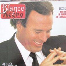Collectionnisme de Magazine Blanco y Negro: BLANCO Y NEGRO 3808 1992 JULIO IGLESIAS, ALEJANDRA BOTO, MACAULAY CULKIN, BUYO, DAVID BYRNE. . Lote 81589564