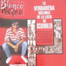 Colecionismo de Revistas Preto e Branco: BLANCO Y NEGRO 3897 1994 ESPERANZA CAMPUZANO, ANGELES CASO, MANUEL PERTEGAZ, LISTA DE SCHINDLER. Lote 81657252