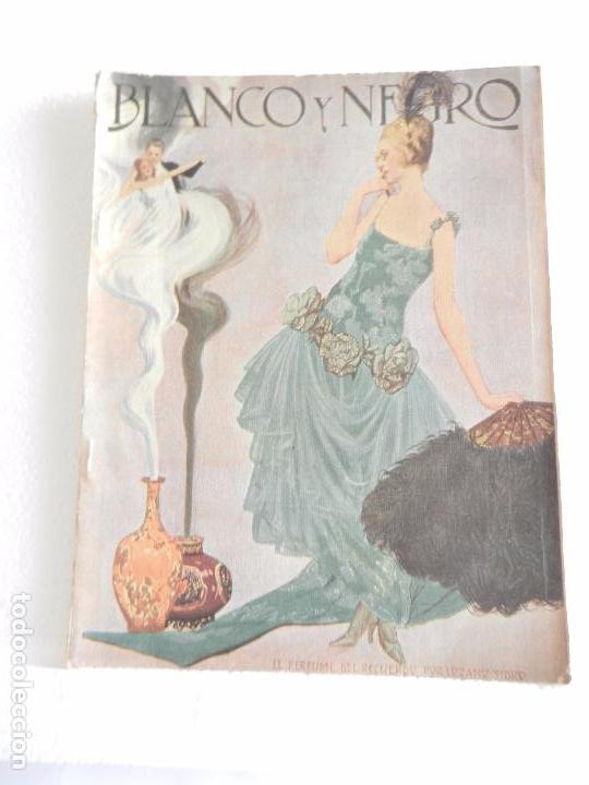 REVISTA ILUSTRADA BLANCO Y NEGRO NUM. 1549 ENERO DE 1921. (Coleccionismo - Revistas y Periódicos Modernos (a partir de 1.940) - Blanco y Negro)