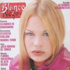 Collectionnisme de Magazine Blanco y Negro: BLANCO Y NEGRO 3875 1993 VERONICA BLUME, FERNÁN-GÓMEZ, MARIBEL VERDÚ, MARIA ESTEVE, STALLONE.. Lote 82618968