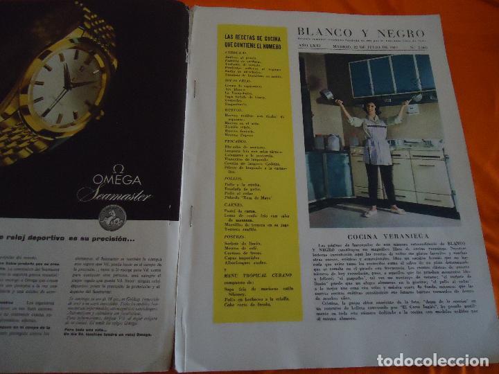 Coleccionismo de Revista Blanco y Negro: Revista Blanco y Negro, nº. 2568, 22/07/1961 - Foto 2 - 82888512