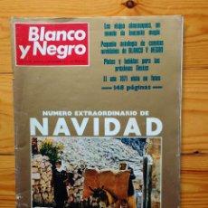 Coleccionismo de Revista Blanco y Negro: BLANCO Y NEGRO-EXTRA NAVIDAD 1971-PUBLICIDAD ANIS DEL MONO-RENAULT 8-SIDRA EL GAITERO-TONICA FINLEY. Lote 83299932