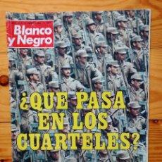 Coleccionismo de Revista Blanco y Negro: BLANCO Y NEGRO 1980 - MANUSCRITO DE YERMA - ENTREVISTA CON EL MAYORDOMO DE ALFONSO XIII. Lote 83311012