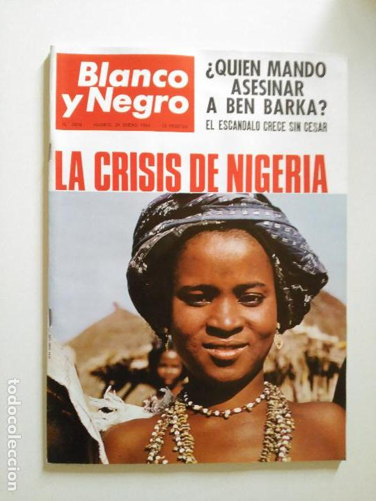 REVISTA BLANCO Y NEGRO Nº 2804 ENERO 1966 (Coleccionismo - Revistas y Periódicos Modernos (a partir de 1.940) - Blanco y Negro)