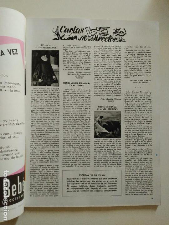Coleccionismo de Revista Blanco y Negro: REVISTA BLANCO Y NEGRO Nº 2804 ENERO 1966 - Foto 2 - 86679904