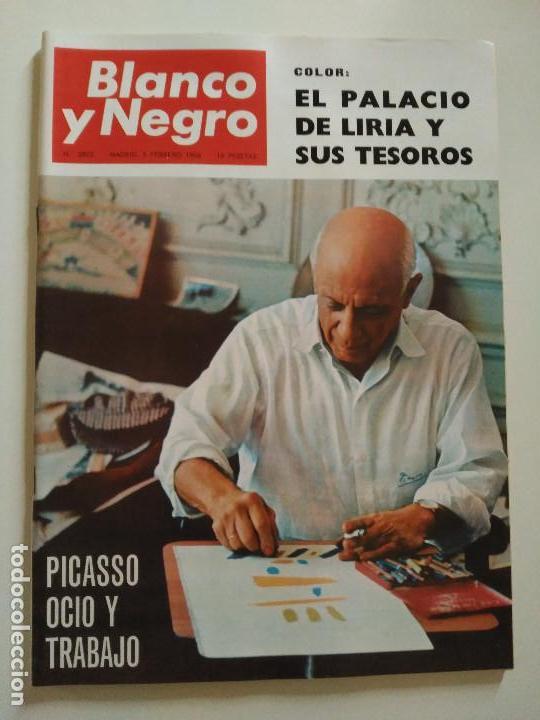 REVISTA BLANCO Y NEGRO Nº 2805 FEBRERO 1966 (Coleccionismo - Revistas y Periódicos Modernos (a partir de 1.940) - Blanco y Negro)