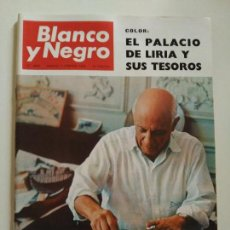 Coleccionismo de Revista Blanco y Negro: REVISTA BLANCO Y NEGRO Nº 2805 FEBRERO 1966. Lote 86680060