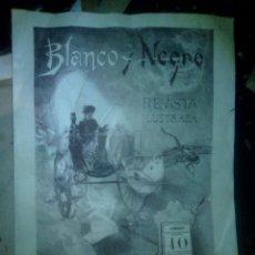 Coleccionismo de Revista Blanco y Negro: Nº 1 DE LA REVISTA ILUSTRADA BLANCO Y NEGRO. Lote 86890216