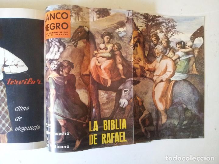 Coleccionismo de Revista Blanco y Negro: REVISTA BLANCO Y NEGRO AÑO 1963 - 1 TOMOS ENCUADERNADO - Foto 4 - 87580548
