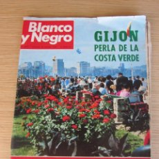 Coleccionismo de Revista Blanco y Negro: REVISTA BLANCO Y NEGRO Nº 2917 30 MAR 1968 GIJON PERLA DE COSTA VERDE COMPLETA. Lote 87922032