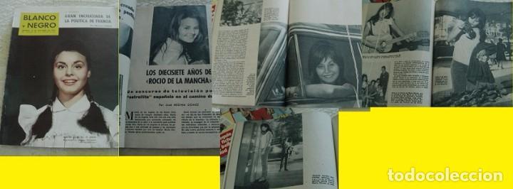 REVISTA BLANCO Y NEGRO ROCÍO DÚRCAL 1962 (Coleccionismo - Revistas y Periódicos Modernos (a partir de 1.940) - Blanco y Negro)