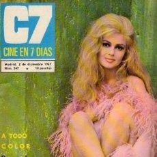 Coleccionismo de Revista Blanco y Negro: CINE EN 7 DIAS - Nº 347 / 2 DICIEMBRE 1967 - PAMELA TIFFIN. Lote 92916310