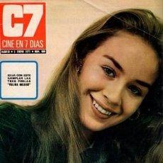 Coleccionismo de Revista Blanco y Negro: CINE EN 7 DIAS - Nº 509 / 9 ENERO 1971 - PORTADA : MARIBEL MARTIN. Lote 92916610