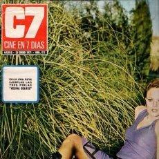 Coleccionismo de Revista Blanco y Negro: CINE EN 7 DIAS - Nº 511 / 23 ENERO 1971 - PORTADA : MARY FRANCIS. Lote 92916770