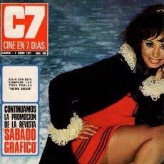 Coleccionismo de Revista Blanco y Negro: CINE EN 7 DIAS - Nº 508 / 2 ENERO 1971 - PORTADA : MARY PAZ PONDAL. Lote 92917860