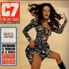 Coleccionismo de Revista Blanco y Negro: CINE EN 7 DIAS - Nº 506 / 19 DICIEMBRE 1970 - PORTADA : LA CONTRAHECHA. Lote 92918205