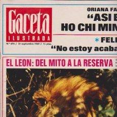 Coleccionismo de Revista Blanco y Negro: GACETA ILUSTRADA - Nº 676 / 21 SEPTIEMBRE 1969. Lote 92933040