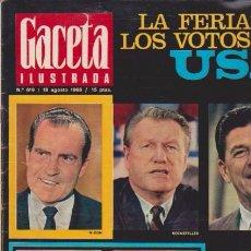 Coleccionismo de Revista Blanco y Negro: GACETA ILUSTRADA - Nº 619 / 18 AGOSTO 1968. Lote 92933230