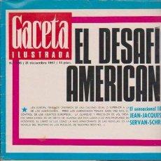 Coleccionismo de Revista Blanco y Negro: GACETA ILUSTRADA - Nº 586 / 31 DICIEMBRE 1967. Lote 92933445