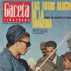 Coleccionismo de Revista Blanco y Negro: GACETA ILUSTRADA - Nº 623 / 15 SEPTIEMBRE 1968. Lote 92933635