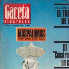 Coleccionismo de Revista Blanco y Negro: GACETA ILUSTRADA - Nº 636 / 15 DICIEMBRE 1968. Lote 92933915
