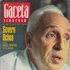 Coleccionismo de Revista Blanco y Negro: GACETA ILUSTRADA - Nº 609 / 9 JUNIO 1968. Lote 92934135