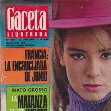 Coleccionismo de Revista Blanco y Negro: GACETA ILUSTRADA - Nº 608 / 2 JUNIO 1968. Lote 92934430