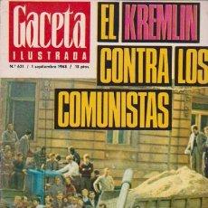 Coleccionismo de Revista Blanco y Negro: GACETA ILUSTRADA - Nº 621 / 1 SEPTIEMBRE 1968. Lote 92934915