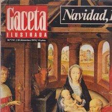 Coleccionismo de Revista Blanco y Negro: GACETA ILUSTRADA - Nº 741 / 20 DICIEMBRE 1970. Lote 92935250