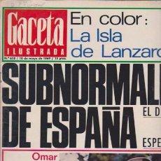 Coleccionismo de Revista Blanco y Negro: GACETA ILUSTRADA - Nº 658 / 18 MAYO 1969. Lote 92935440