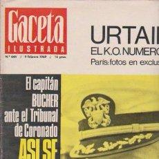 Coleccionismo de Revista Blanco y Negro: GACETA ILUSTRADA - Nº 644 / 9 FEBRERO 1969. Lote 92935570