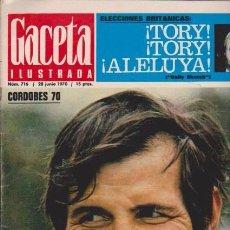 Coleccionismo de Revista Blanco y Negro: GACETA ILUSTRADA - Nº 716 / 28 JUNIO 1970. Lote 92935720