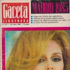 Coleccionismo de Revista Blanco y Negro: GACETA ILUSTRADA - Nº 607 / 26 MAYO 1968. Lote 92935980
